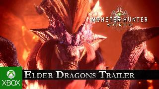 Monster Hunter World - Elder Dragons Trailer Xbox One